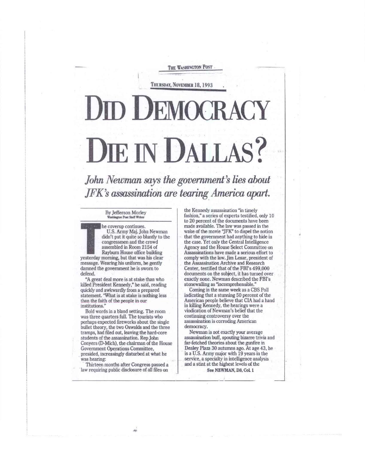 DIDDEMOCRACYDIEINDALLAS-1 Did Dem Die in Dallas?