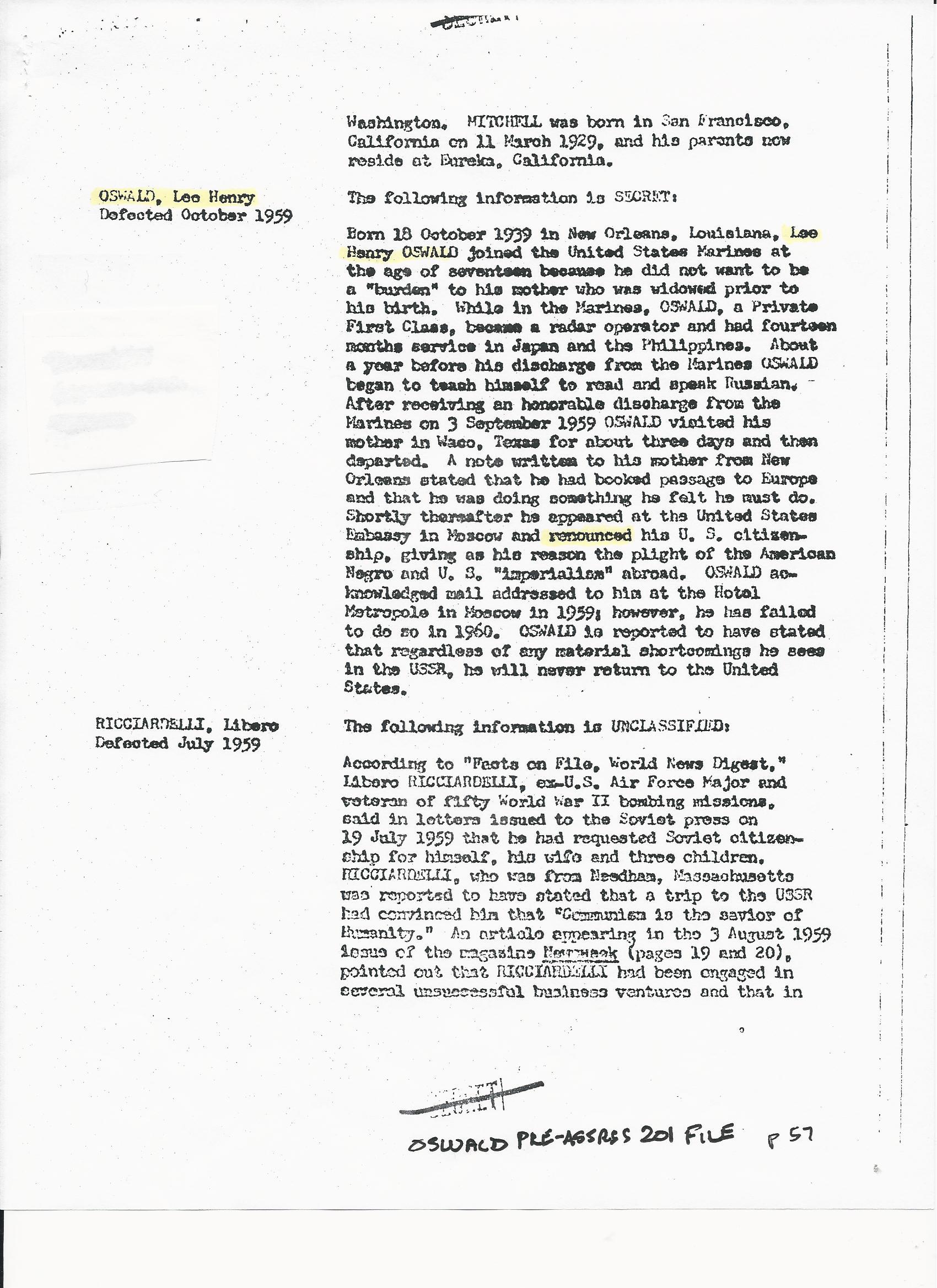 EGERTERBIOONLEEHENRYOSWALD Egerter's Lee Henry Oswald Bio