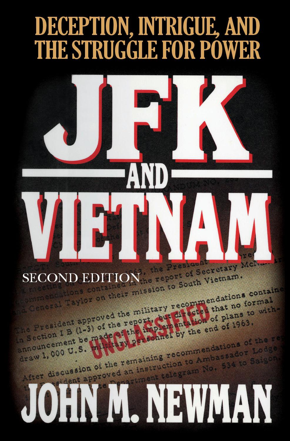 JFKANDVIETNAM_Coverhighrez Publications and Books by John Newman